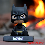Bobblehead action figure of the original DC Hero, Batman, with an oversized head.