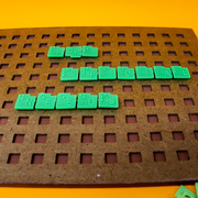 Braille Crossword Scrabble Board Game for The Blind