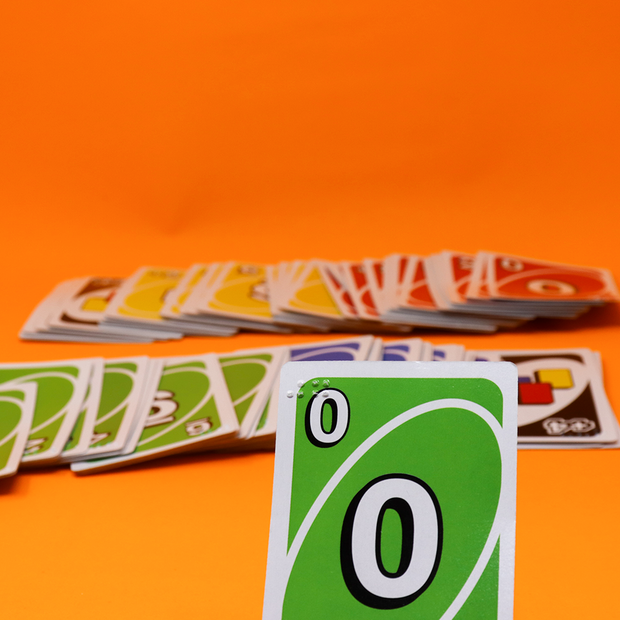 Braille UNO Card Game for the Blind