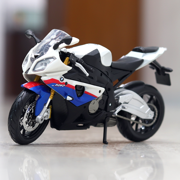 BMW S 1000RR Diecast Bike 1:12 Scale
