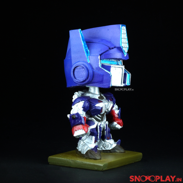 Optimus Prime Transformer Bobblehead