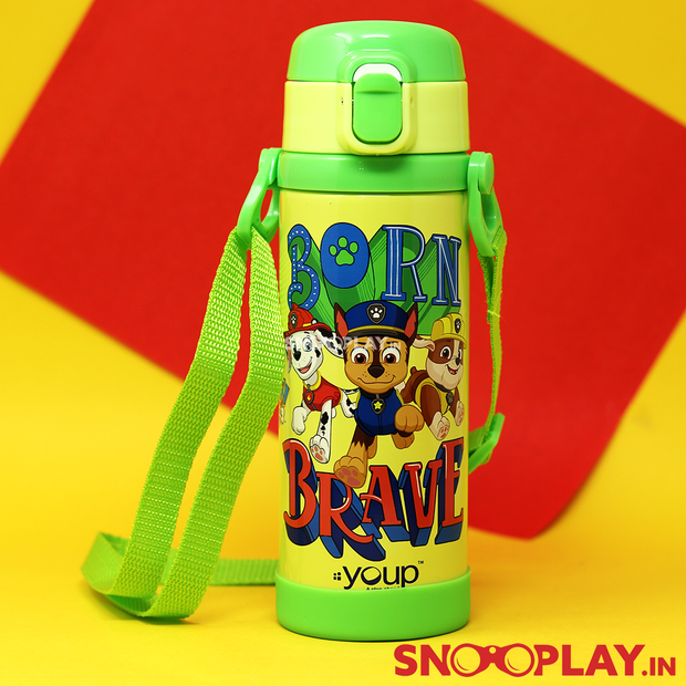 Buy Youp - Paw Patrol Scooby School Water Bottle (500 ml) School Water Bottle for school playschool Printed water bottle with neck string