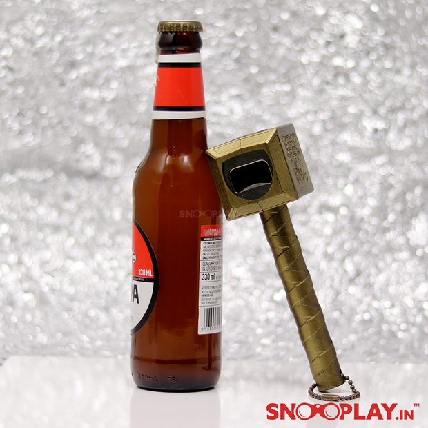 Thor Hammer Shaped Bottle Opener