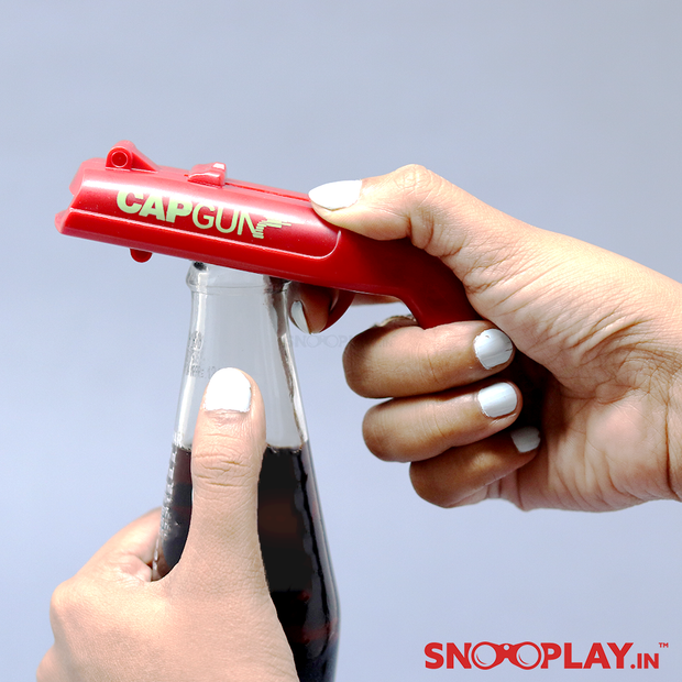 Gun Shaped Bottle Opener & Cap Shooter Online India Best Price