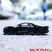 Buy Bugatti Chiron Candy Black Color Die Cast Pull back Car Model Collectible Online India Best Price