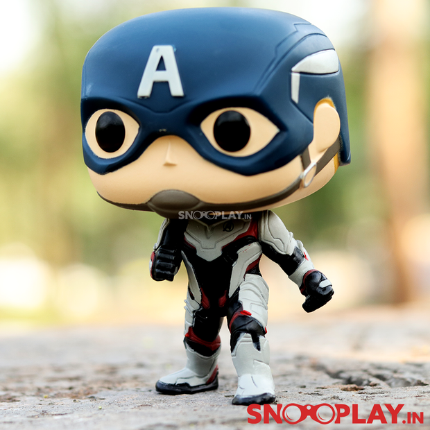 Buy Original Marvel Captain America End Game Suit Up Action Figure Collectible Figurine Online India Best Price