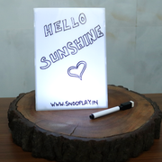 LED Cinematic Light Box (with Message Board & White Board)