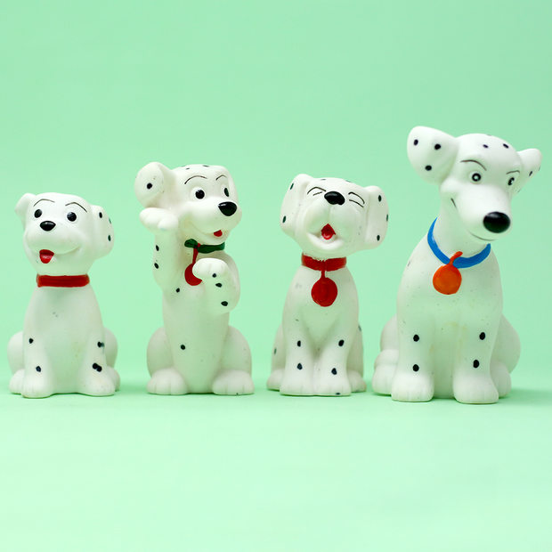 Squeezy Squeaky Toy - Dalmatian Puppies