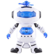 Dancing Robot Musical Toy With Lights For Kids (with 360 Degree Rotation)