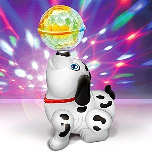 Musical Dancing Dog with Ball and Lights For Kids