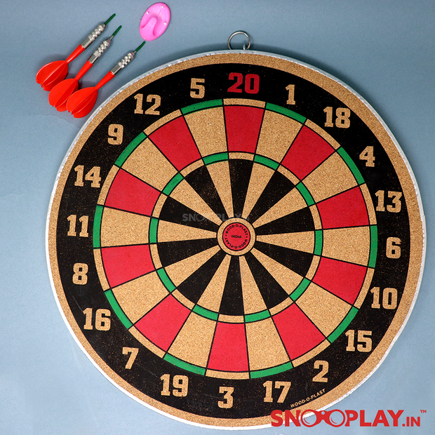 Dart Game-12 Inches (Double Sided Dart Board)