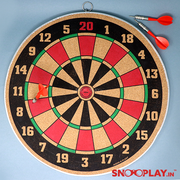 Dart Game-18 Inches (Double Sided Dart Board Game)