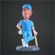 Mahendra Singh Dhoni Cricket Player Bobblehead