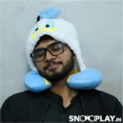 Donald Duck Neck Pillow (Hoodie Style)