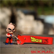 krillin action figure keychain