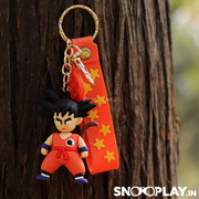 The dragon ball z warrior keychains would fit well with your car/bike keys.