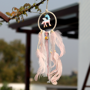 Decorate your homes/offices with this beautiful unicorn dream catcher.