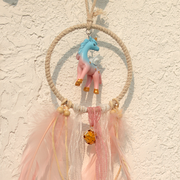 This Unicorn dream catcher would make an amazing gift for your friend or colleague who is into home decor products.