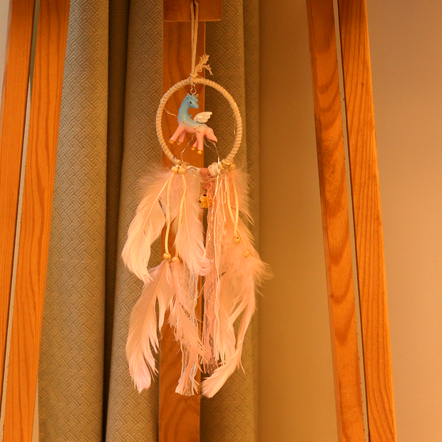 What's more to it? Well, this exquisite accessory brightens up your room at night with it's fairy lights.