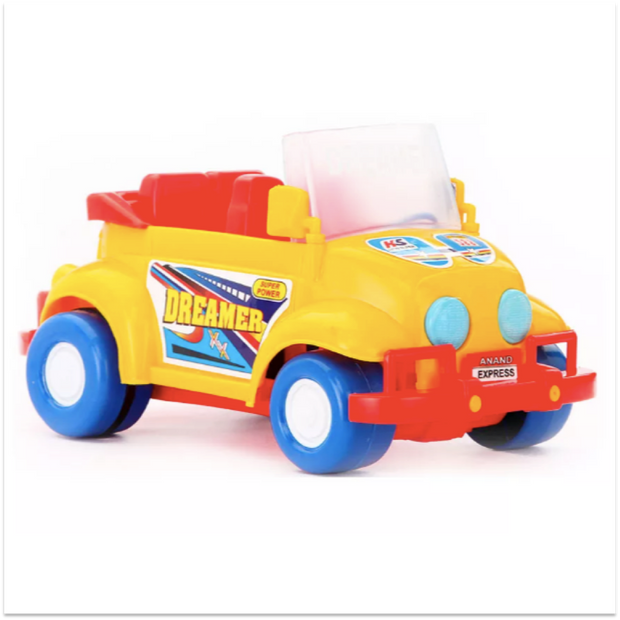 Dreamer Car (Friction Powered Toy Car For Kids)