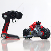 The all new Maisto Cyklone Drift Remote Controlled Bike comes with 40 individual wheels which makes it a drift god.