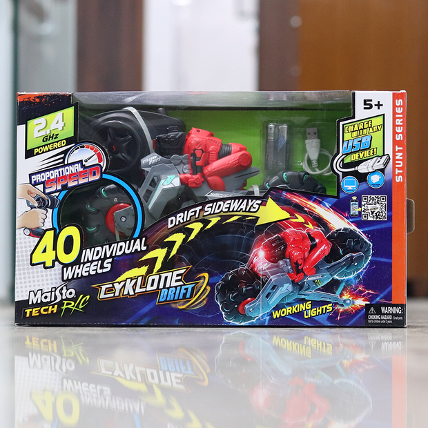 This RC Bike is a great gift for your kid who loves remote controlled toys.