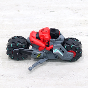 The working led lights of this RC bike toy make the drifting stunts more fun.