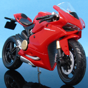 Ducati 1199 Panigale Die Card Bike Model 1:18 Online best Price