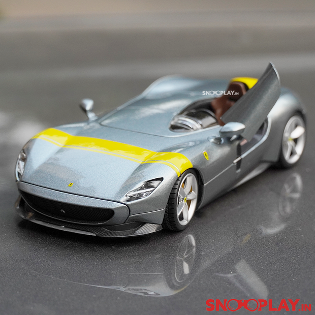 Ferrari Monza SP1 Diecast Model (1:24 Scale) is a greatly detailed replica of the supercar- Ferrari Monza SP1.