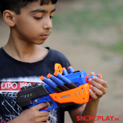 Five Dart Soft Blaster action gun toy for kids :- Snooplay.in