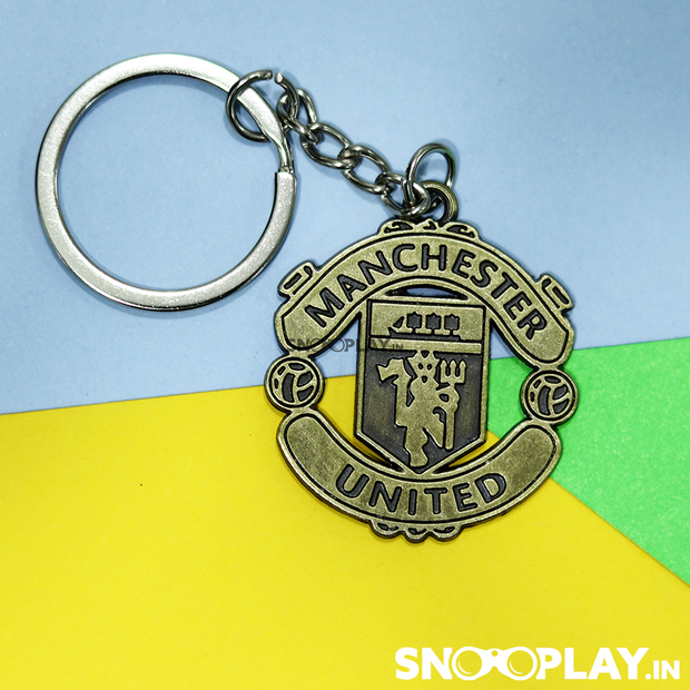 Buy Manchester United Football Club Logo Metal Keychain Football Lovers Online India Best Price