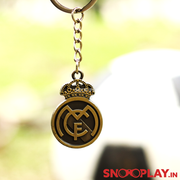 Buy Real Madrid Football Club Logo Metal Keychain Football Lovers Online India Best Price