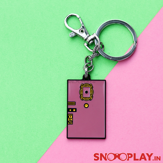 Buy Friends Series Special Metal - Door Keychain F.R.I.E.N.D.S. TV series Purple Door Keychain