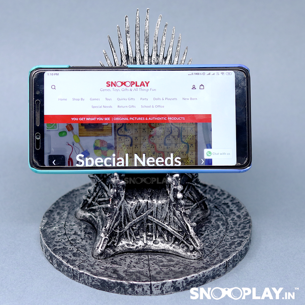 Iron Throne Game of Thrones Phone Stand Online India Best Price