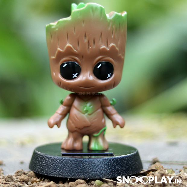 Baby Groot Solar Powered Bobblehead