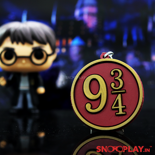 Pillar Number 9¾ Harry Potter Keychain Online India