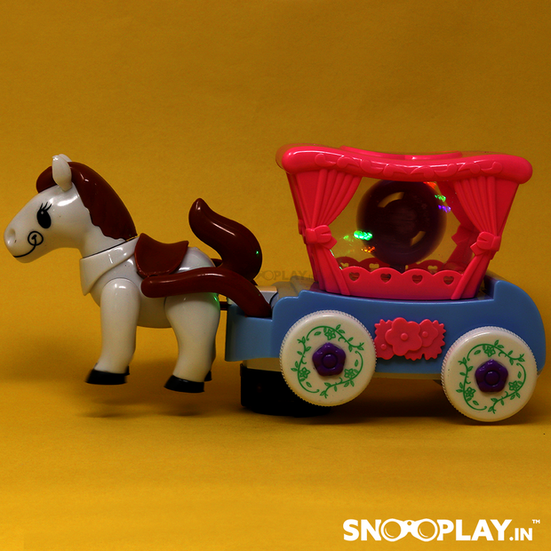 Cartoon Electric Series Flash Carriage musical toy for kids:- Snooplay.in