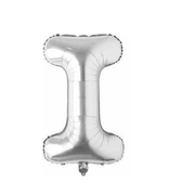 A - Z Letter Balloon-Silver (16 inches)
