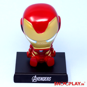 Iron Man Bobble Head Action Figure - Car Decoration Online India Best Price