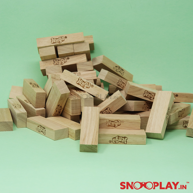 Jenga Senior (Wooden Blocks Stacking Tumbling Tower)