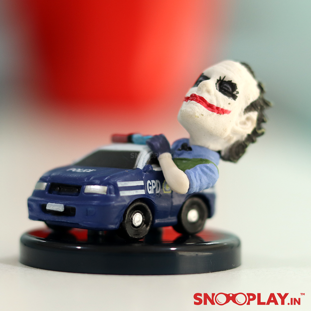 Joker Police Car Robbery Batman - The Dark Knight Inspired Action Figure
