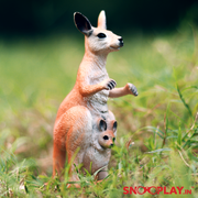 Red Kangaroo Animal Figure - National Geographic Original Online India Best Price