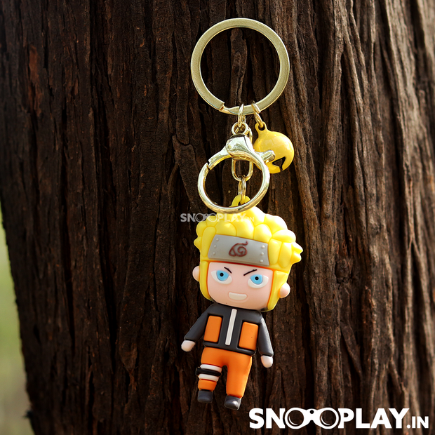 These awesome anime action figure keyrings are an ideal gift for folks who love the anime series naruto