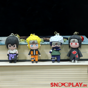 We bring you the coolest manga action figure keychains of the characters- Kakashi Hatake, Naruto Uzumaki, Itachi Uchiha and Sasuke Uchiha.