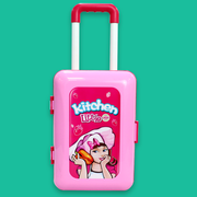 2 in 1 Kitchen Little Chef Playset Pretend Play Suitcase