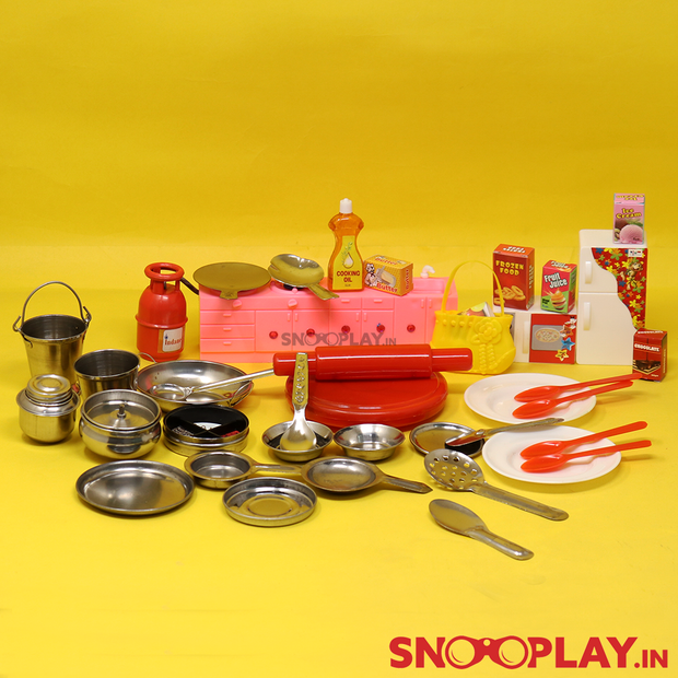 My Kitchen Collection Playset - Big (Steel Kitchen Set)