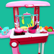 Kitchen Set Suitcase Trolly For Kids (Big)
