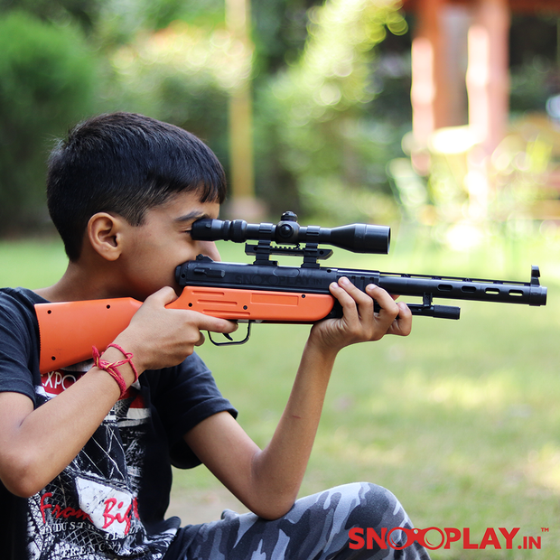 M40 Sniper Commando action aiming gun toy for kids :-Snooplay.in