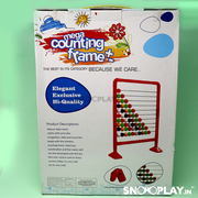 Buy counting frame abacus game for kids with stand - Snooplay.in