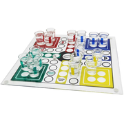 Drinking Ludo Game (With Shot Glasses) Party Game